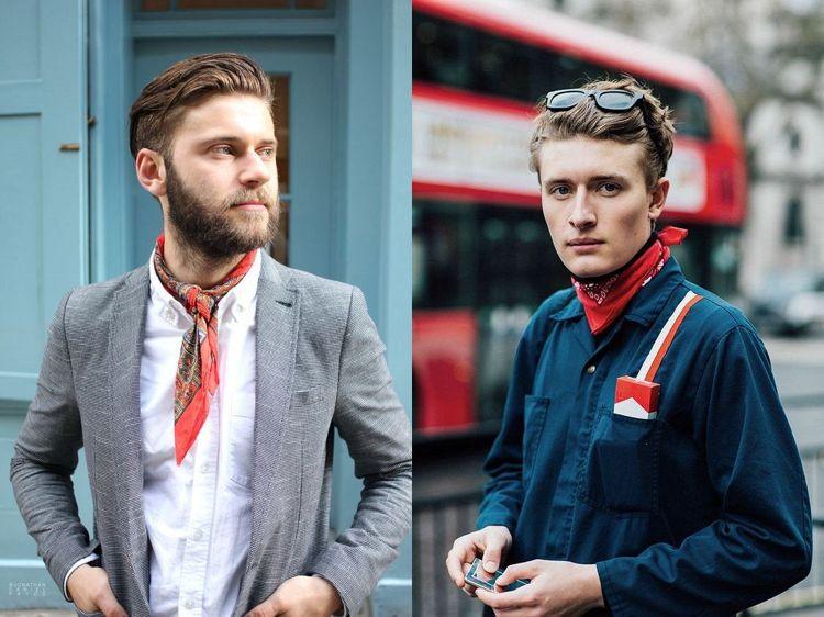 Bandana Binden 30 Ideen Wie Manner Den Trend Tragen Konnen