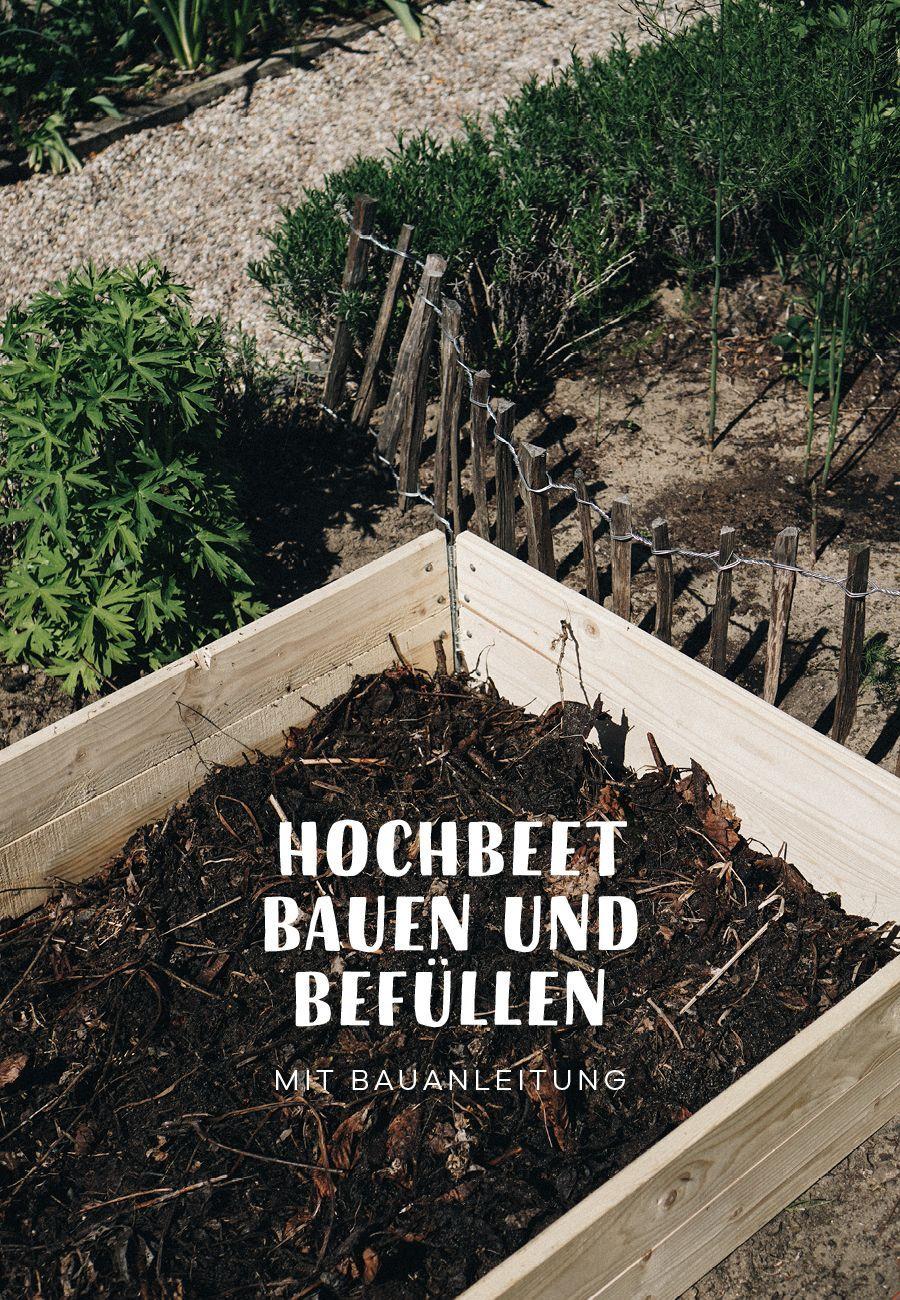 Ein Hochbeet Aus Paletten Kann Man Leicht Selber Bauen Hier Erfahrst Du Wie Man Es Baut Und Vor A In 2020 With Images Raised Garden Beds Diy Vegetable Garden Planner Raised Beds