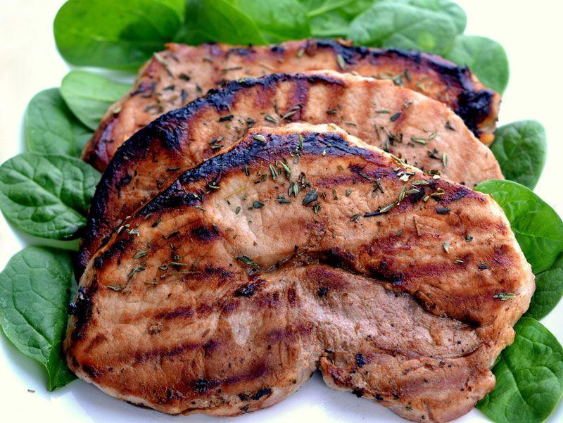 Jodi's Apple Cider Glazed Pork Chops -
