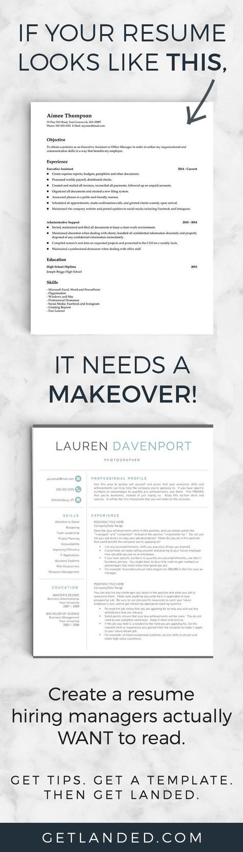Of Candidates Desperately Need A Resume Makeover Get A Resume