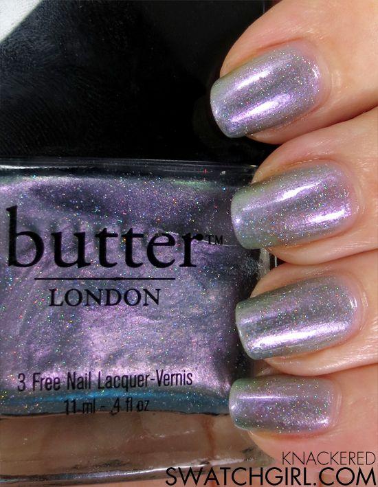 Butter London Knackered Nail Polish Swatch Review Nail Polish