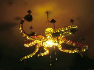 Octopus chandelier 7 riple purposemain lamp soft light octopus chandelier 7 riple purposemain lamp soft light candlelight or any mozeypictures Images