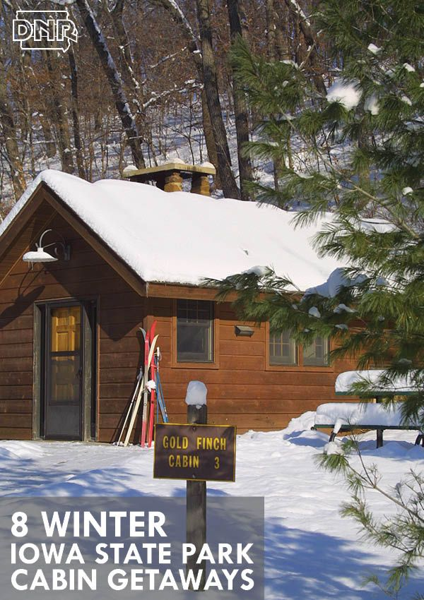 Winter Getaways: Take A Winter Getaway In An Iowa State Park Cabin