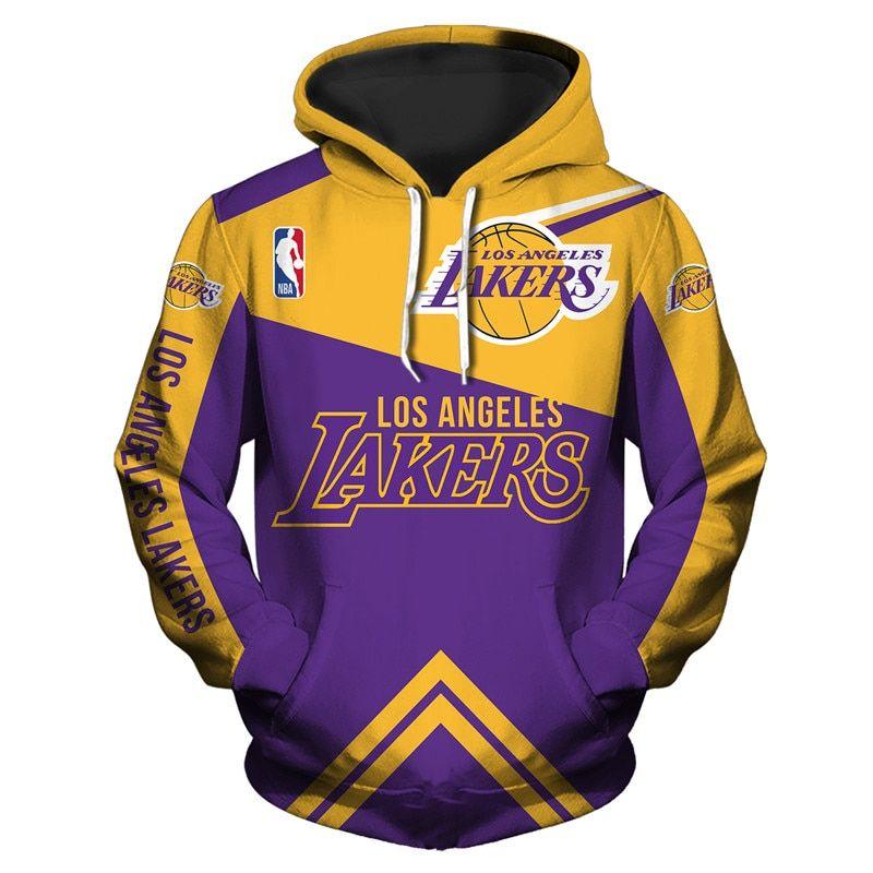 Los Angeles Lakers Hoodie 3d Cheap Basketball Sweatshirt For Fans Nba Jack Sport Shop Basketball Sweatshirts Los Angeles Lakers Lakers