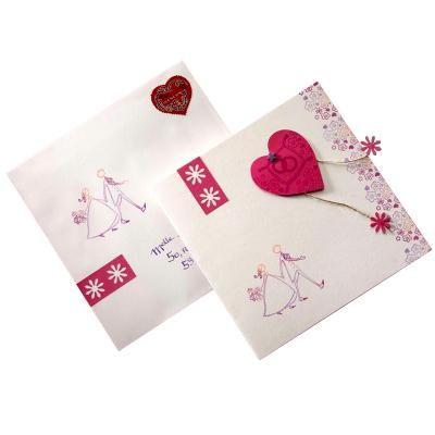 Faire-Part Mariage Coeur rose – Idées conseils et tuto Faire-part mariage