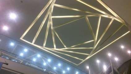 40 Latest gypsum board false ceiling designs with LED lighting 2018 ...