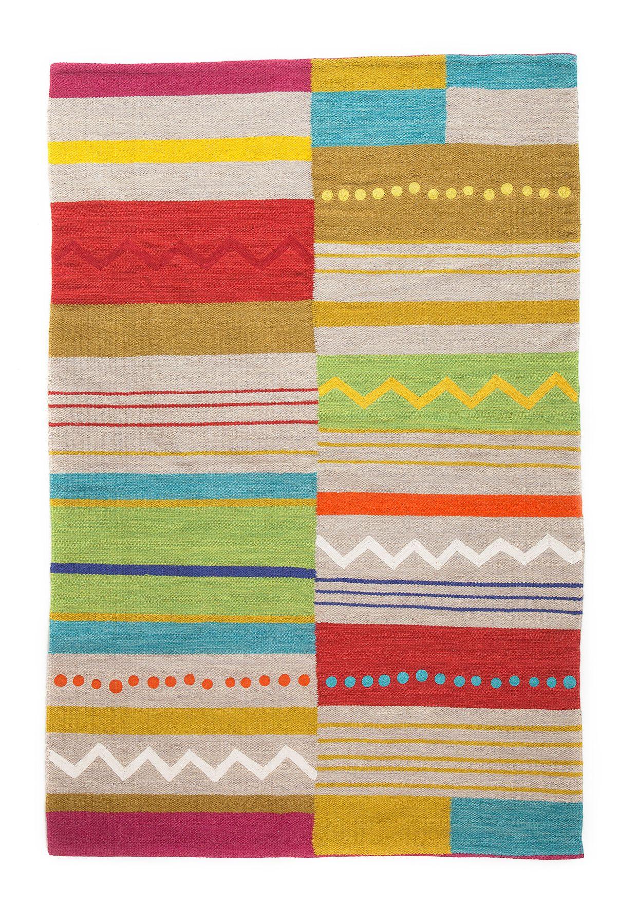 colorful rug from gudrun sj den rugs pinterest. Black Bedroom Furniture Sets. Home Design Ideas