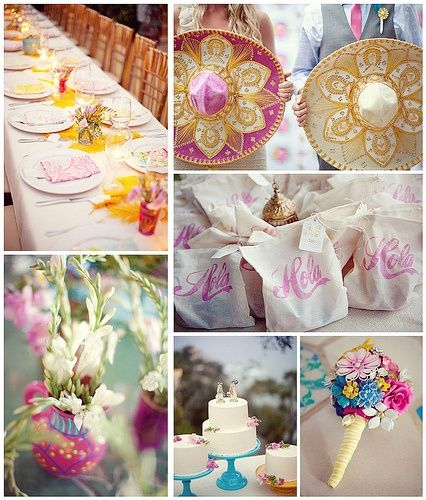 Mexican Themed Wedding Reception: More Mexican Themed Weddings