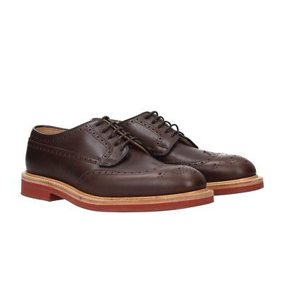 Lace Up Shoes for Men Oxfords, Derbies and Brogues On Sale, Brown, Leather, 2017, 10 Churchs