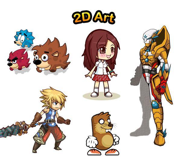 Voorkeur 2D Game Art on Behance | 2D Game Art | Pinterest | 2d game art  TI08
