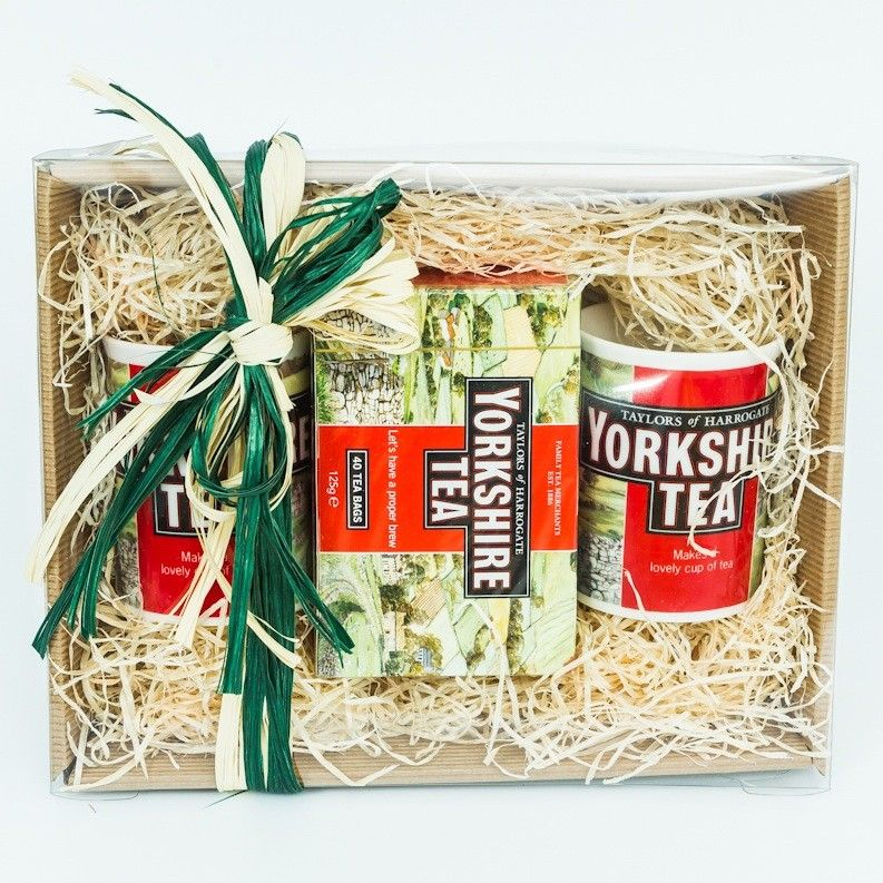 Yorkshire Tea box set by Yorkshire Tea from The Yorkshire Pantry  selling Yorkshire tea at Taylors Tea shop was my weekend job as a teenager