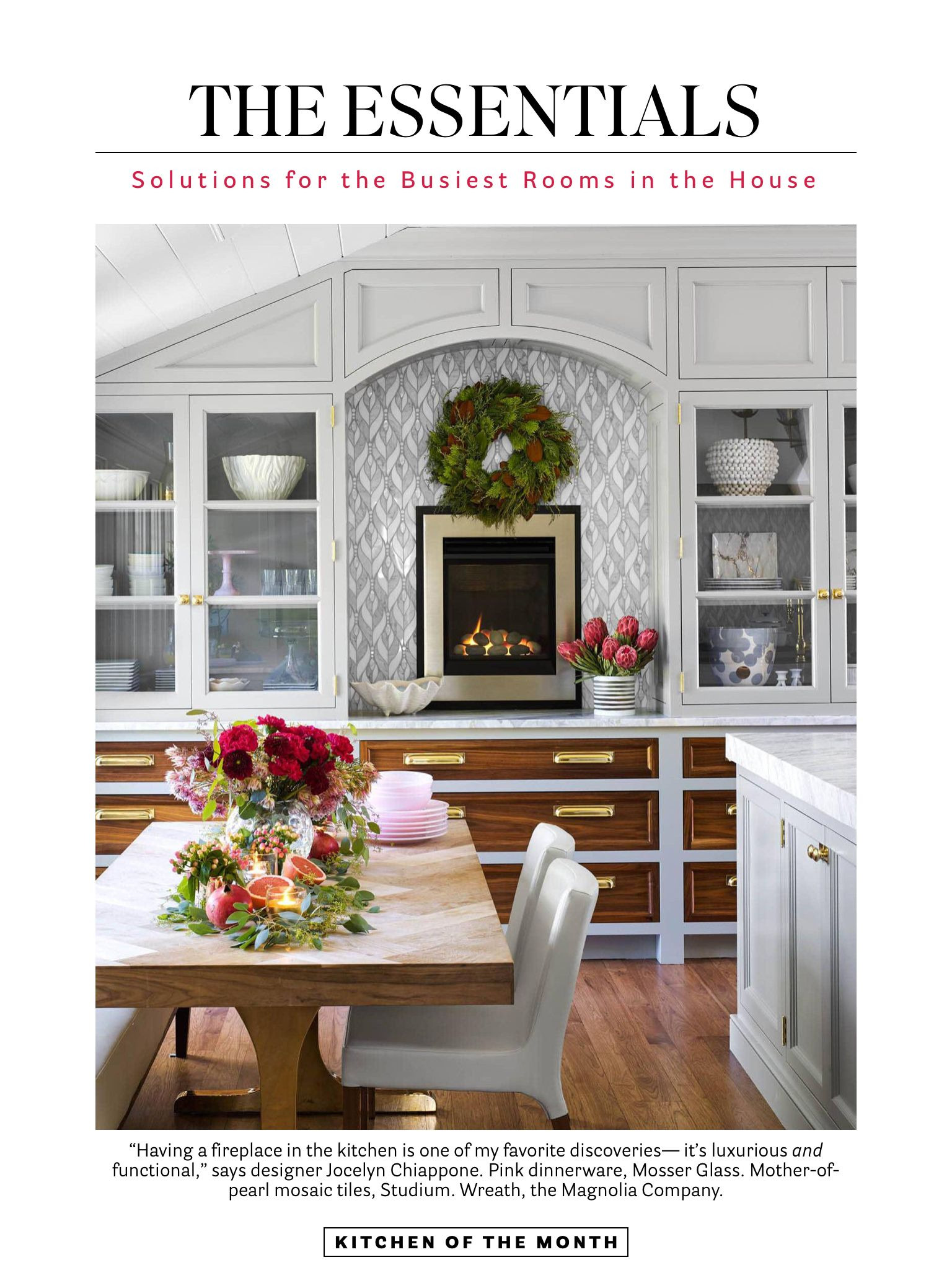 Kitchen Of The Month From House Beautiful Dec 2018 Jan 2019