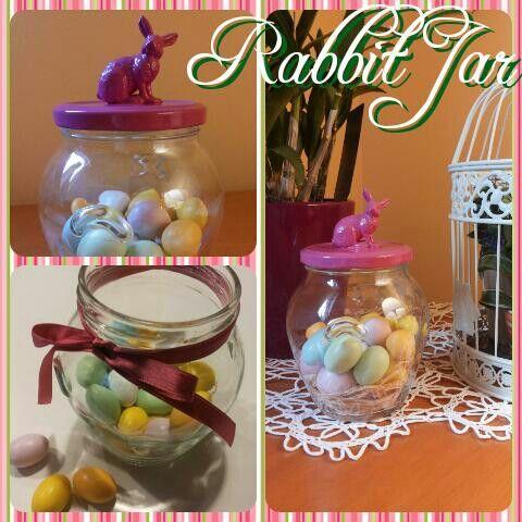 Rabbit Jar Topper | Sara's Creations