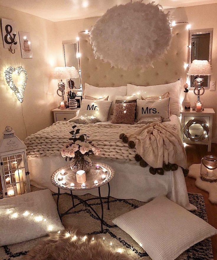 Romantisches Schlafzimmer Balkon