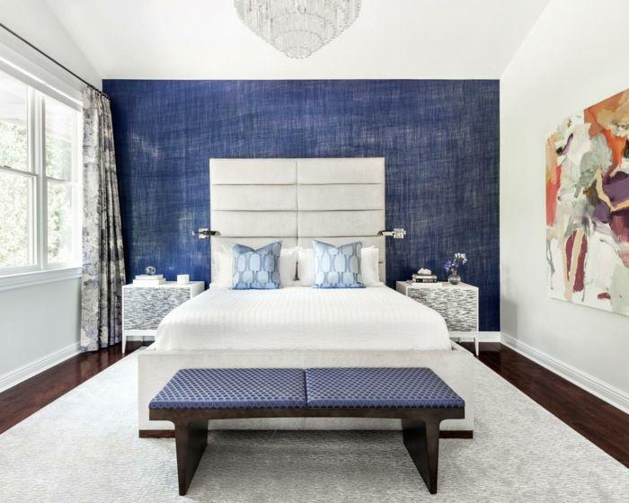 gardinen schlafzimmer vorhänge mit schönem muster Schlafzimmer - vorhnge schlafzimmer ideen