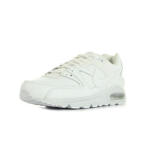 promo code nike air max command leather all white cfb66 5bf66