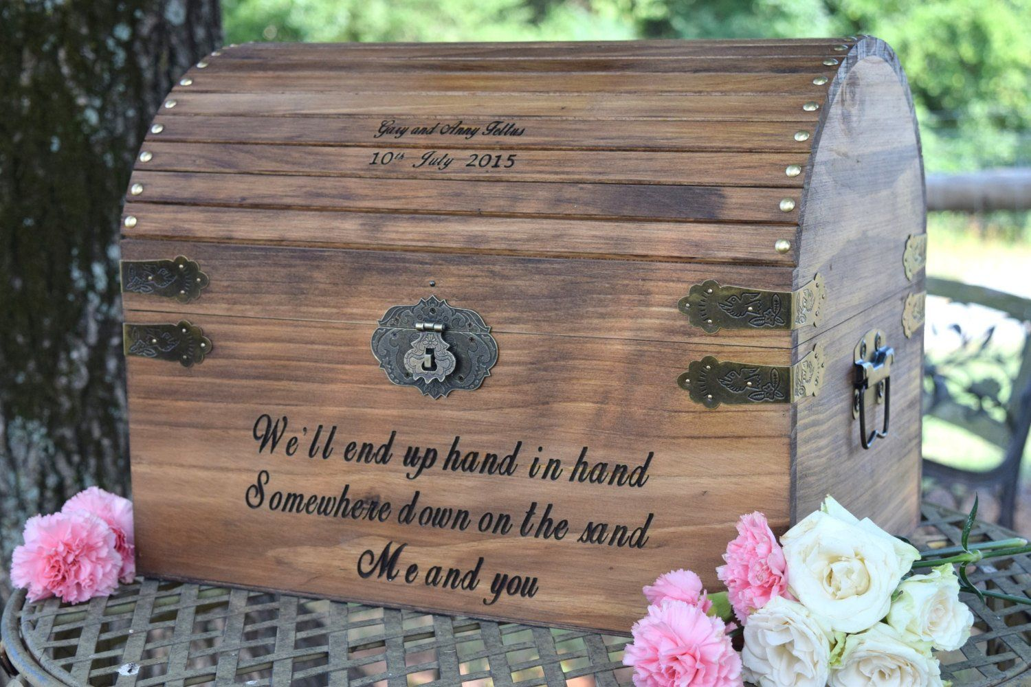 Rustic Wedding Keepsake Box