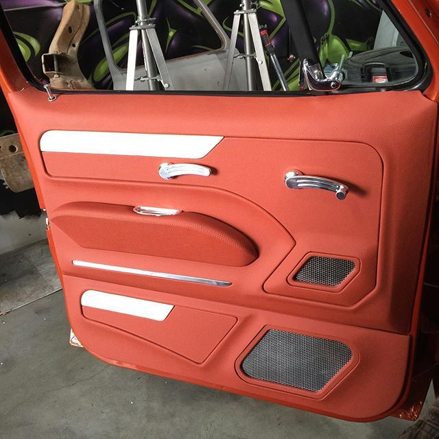 Perfection These Door Panels Came Out Great Thanks To Elevateddesign And Ceballoscustoms Allamericanbille Custom Car Interior Car Interior Diy Custom Cars