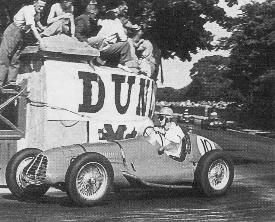 1947 british empire trophy, isle of man - dave hampshire (challenger-delage) dnf 21 laps magneto 1