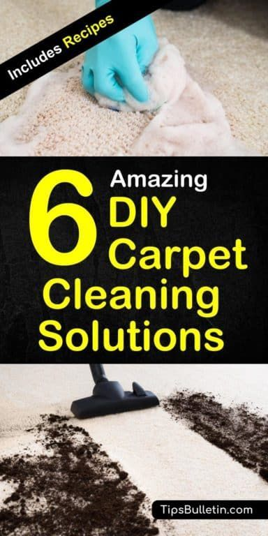 6 Amazing Diy Carpet Cleaning Solutions Diy Cleaner