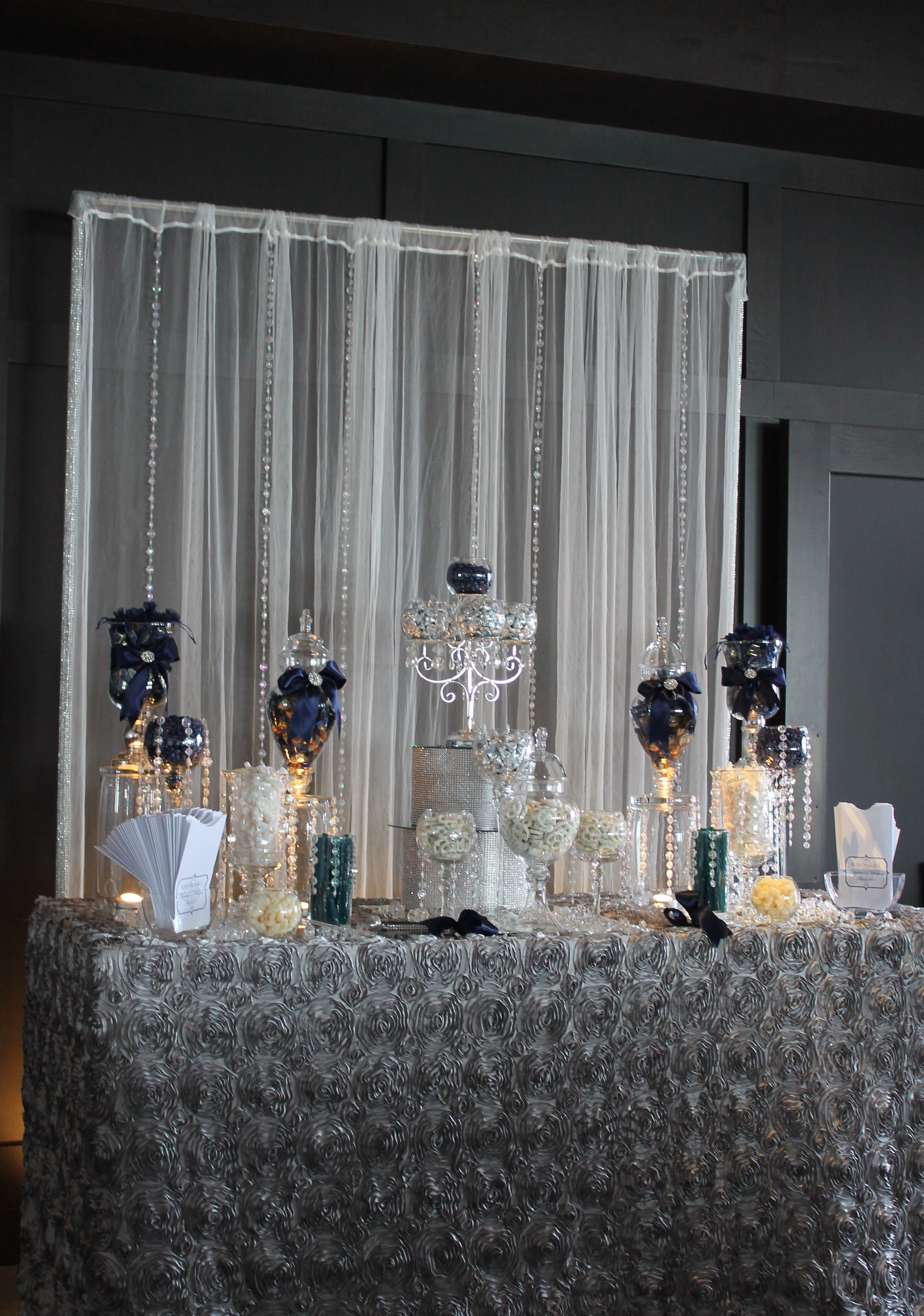 This is visually stunning but not accessible all the candy will by tasty tables navy blue candy buffet bling candy buffet candy buffet san diego wedding candy buffet white and navy blue candy buffet reviewsmspy