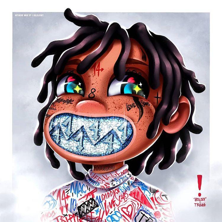 Boldly Instagram Photos And Videos Rapper Art Anime Rapper Album Artwork Cover Art