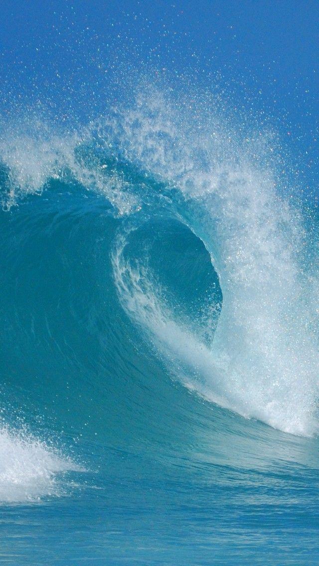 Sea, Wave, Australia, Blue iPhone 5 wallpapers ...