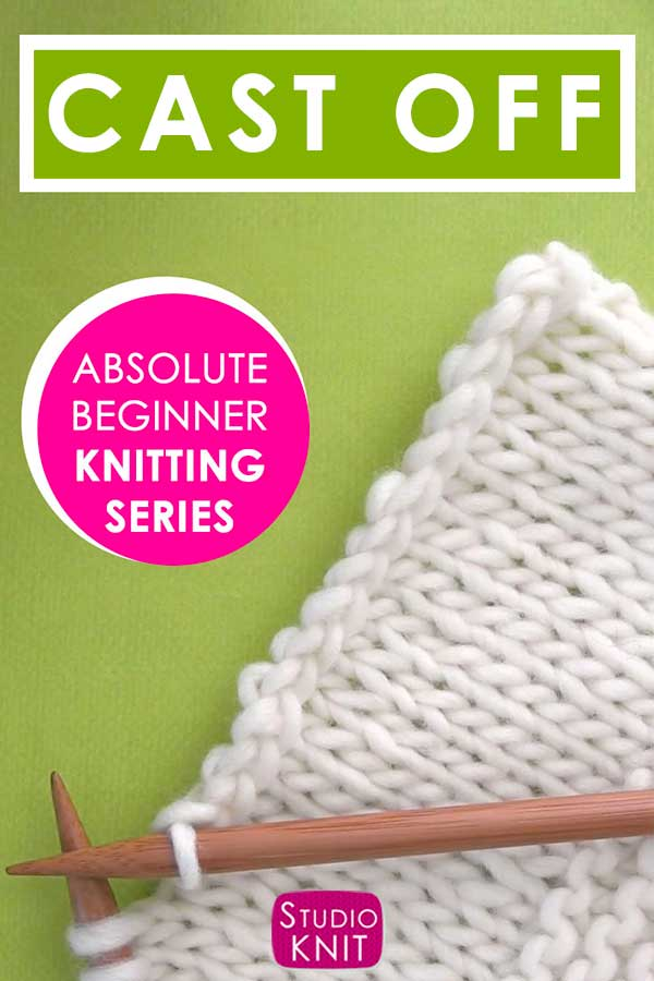 How To Cast Off Knitting Stitches In 2020 Casting Off Knitting Knitting Stitches Knitting For Beginners