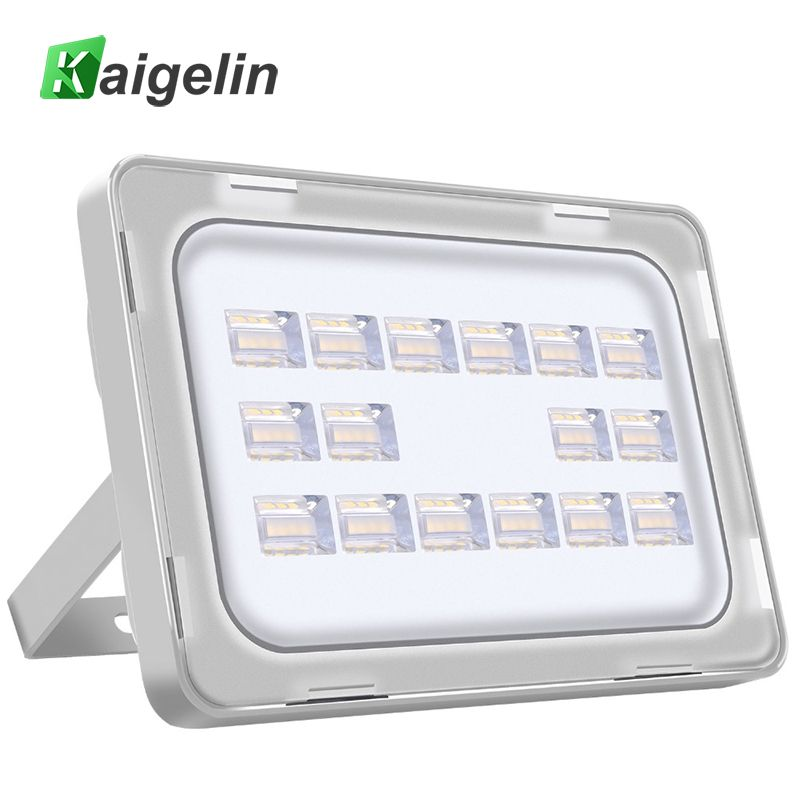 Kaigelin 50w Led Flood Light 220 240v 6000lm 64 Led Ip67 Waterproof Floodlight Led Spotlight Outdoor Wall Lamp Garden Lighting Aff Outdoor Wall Lamps Led Flood Lights Led