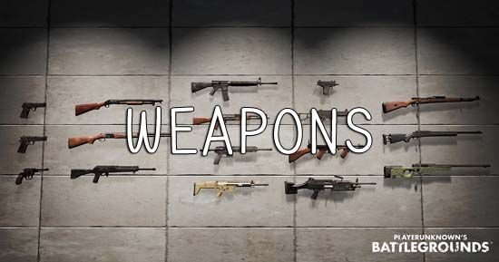 Playerunknown S Battlegrounds Maps Loot Maps Pictures: PlayerUnknowns Battlegrounds Weapons Guide: The Lowdown On