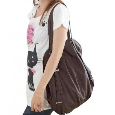 Cute Casual Style Backpack School Bag Tote Handbag Purse, Faux ...