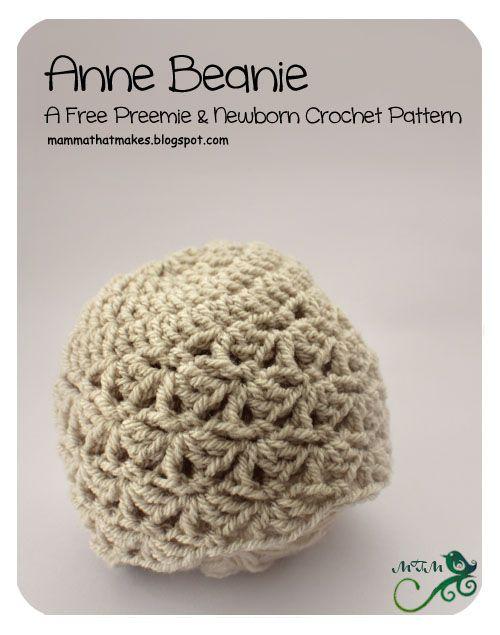 3. Anne Preemie Beanie Upsized | Preemies! | Pinterest