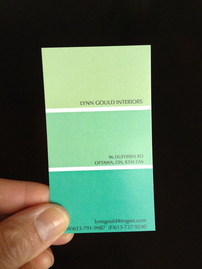 Interior Designer Business Cards Design