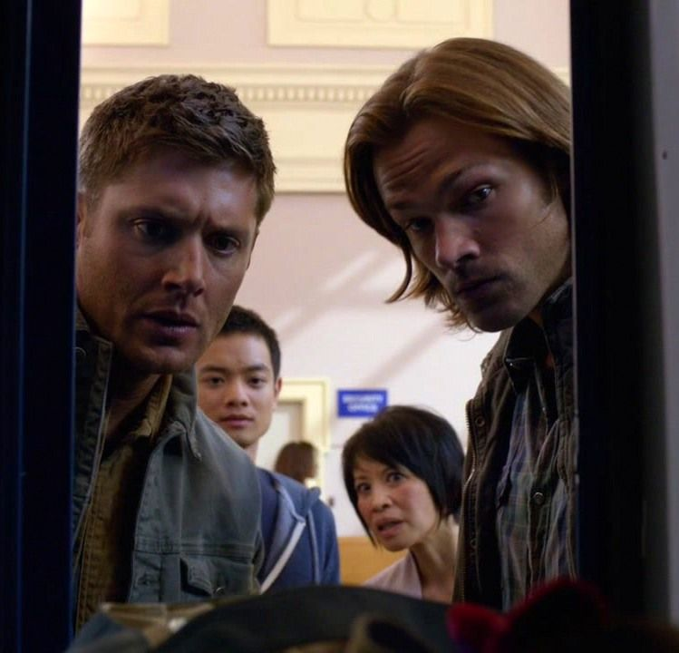 """""""You hid the Word of God in a diaper bag?""""  8x02 What's Up, Tiger Mommy?"""