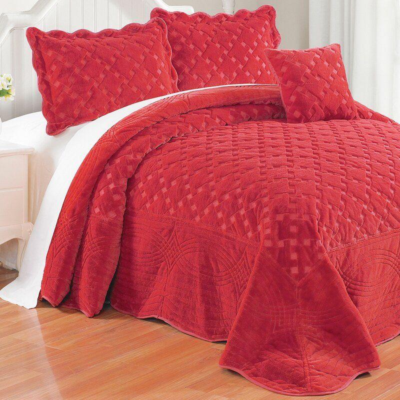 Emmylou Oversized Sipescoverlet Set In 2020 Bedspread Set Bed Spreads Darby Home Co