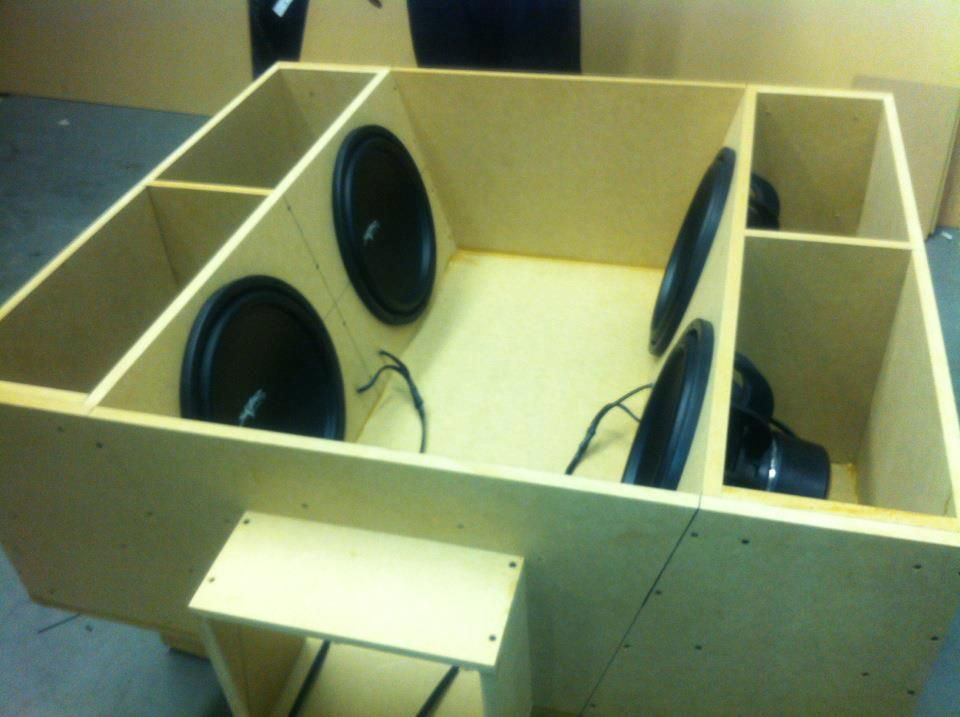 4th Box Order Blueprints Subwoofer