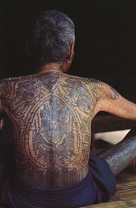 B 6546 Shantai Yai Tattoo Book Burma Tattoos Tattoos