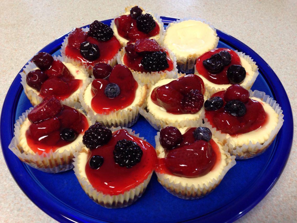 Cheese cake cupcakes