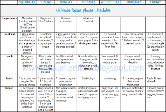 Committed To Get Fit Ultimate Reset Day 1 Ultimate Reset Ultimate Reset Recipes Beachbody Ultimate Reset