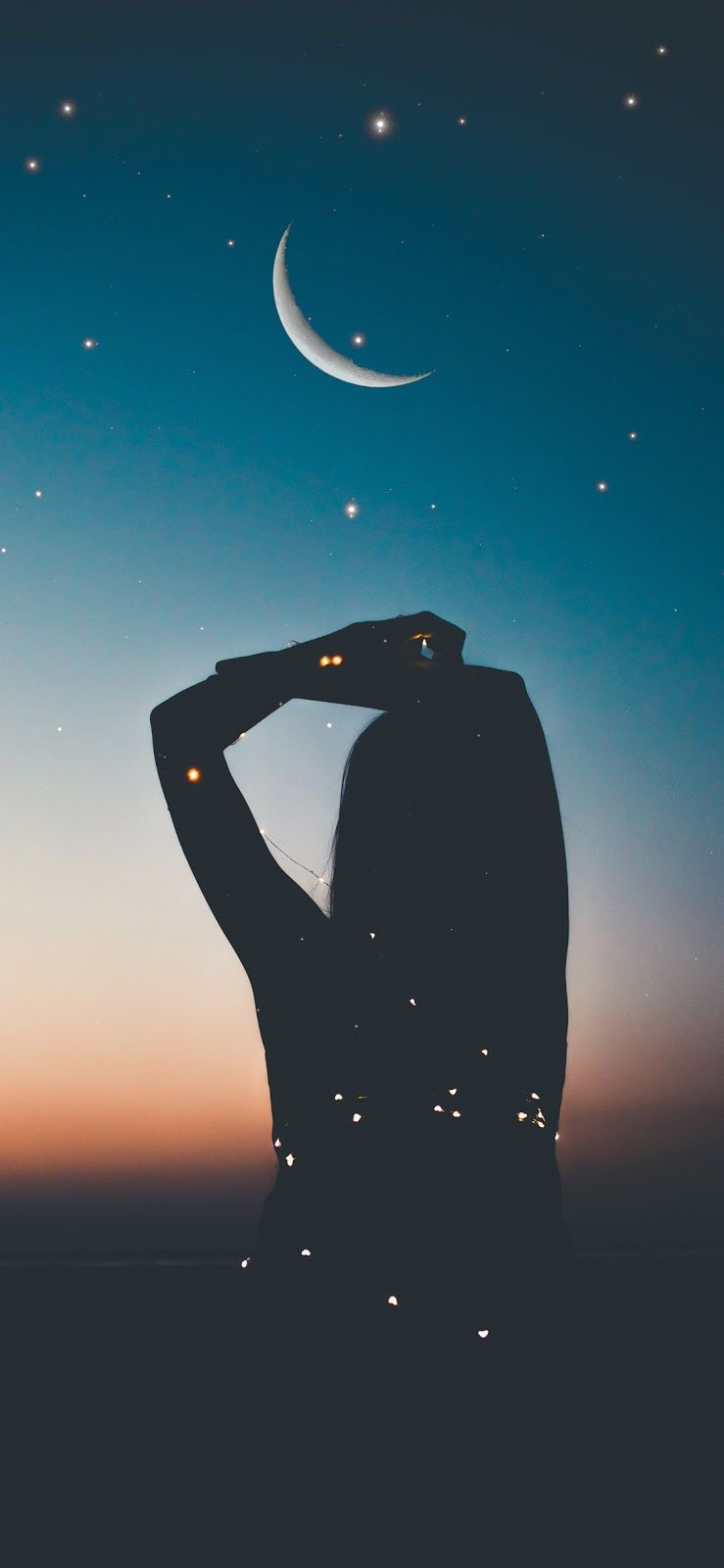 Blend In At Night Iphone X Cute Wallpaper For Phone Phone Backgrounds Tumblr Silhouette Photography