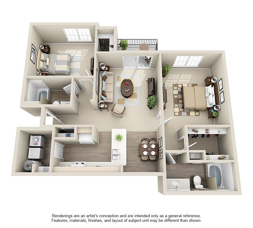 One Two Three And Four Bedroom Apartments In Oklahoma City Oklahomacity Oklahoma Apartment Apartment Floor Plans A Frame House Plans Apartment Layout