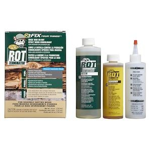 PC Products PC-Rot 24-oz Dries Amber Wood Hardener Lowes