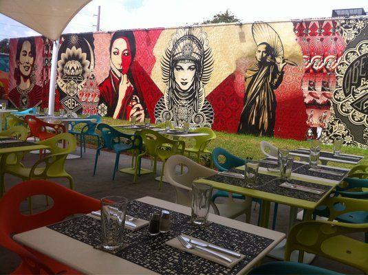 Wynwood Kitchen & Bar | Design - Bar/Restaurants | Pinterest ...