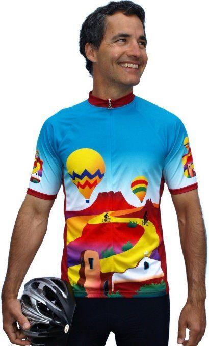 Balloon (no words) Short Sleeve Cycling Jersey - Small  46ef00202