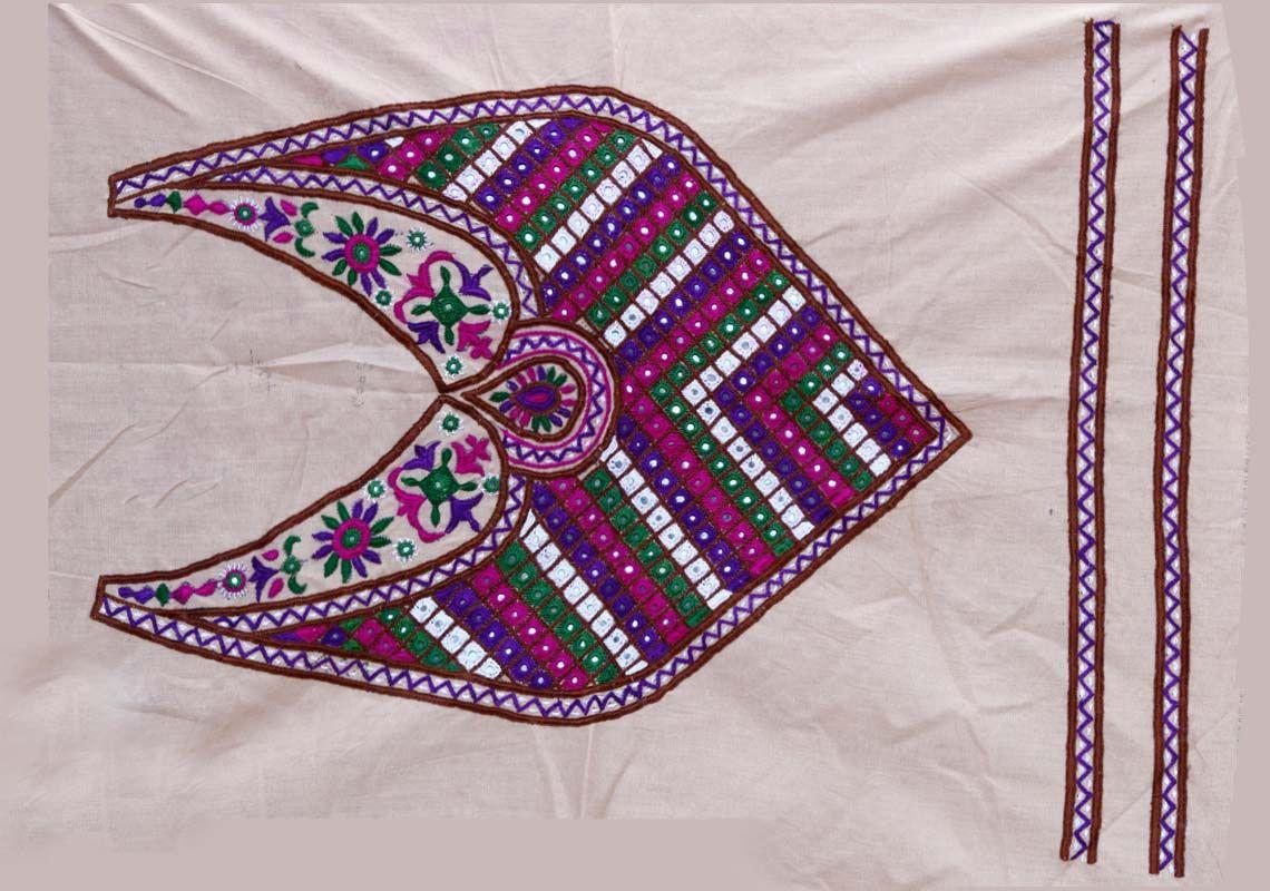 Kutch embroidery patch kutch work yokes pc main