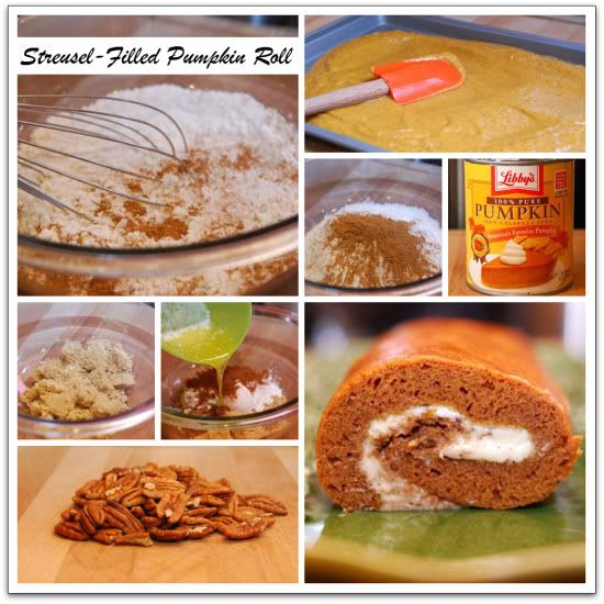 Short Stop: Streusel-Filled Pumpkin Roll