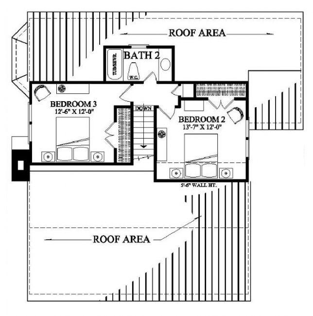 William E Poole Designs Cajun Cottage Cajun Cottage Cottage Floor Plans