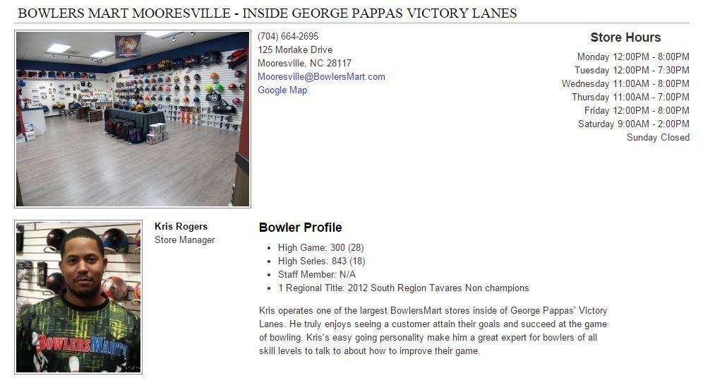 BowlersMart Mooresville - Inside George Pappas Victory Lanes
