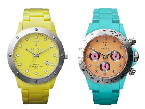 Sporty Watches in bold colors