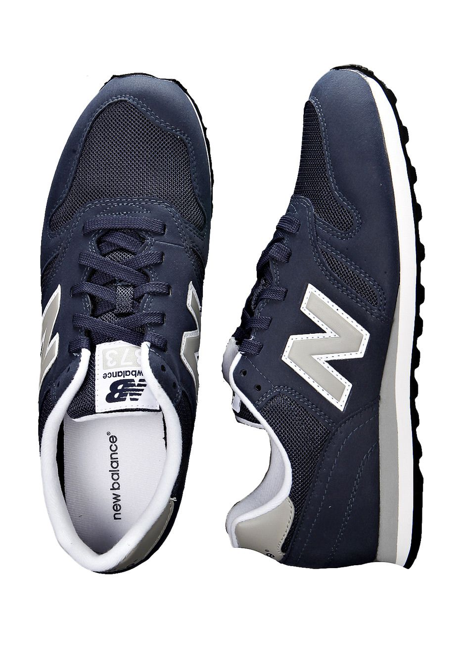 new balance 373 navy blue